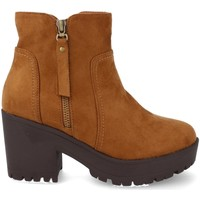 Chaussures Femme Low boots Prisska Y5652 Camel
