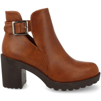 Chaussures Femme Low boots Prisska YC8203 Taupe