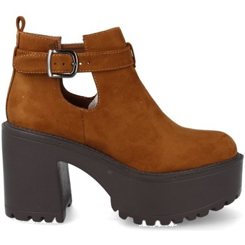 Chaussures Femme Low boots Prisska YC8206 Camel