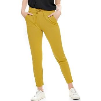 Vêtements Femme Pantalons Jacqueline De Yong PANTALON  PRETTY Jaune