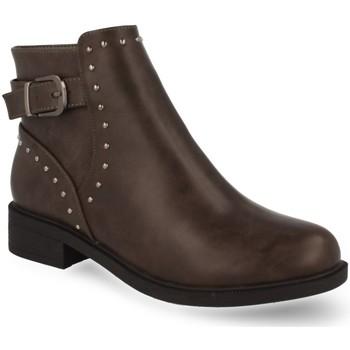 Chaussures Femme Bottines Prisska RD8228 Gris