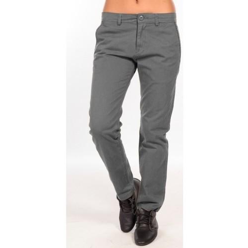 Vêtements Femme Chinos / Carrots Charlie Joe Pantalon  Gris  Waine Long Pant Gris
