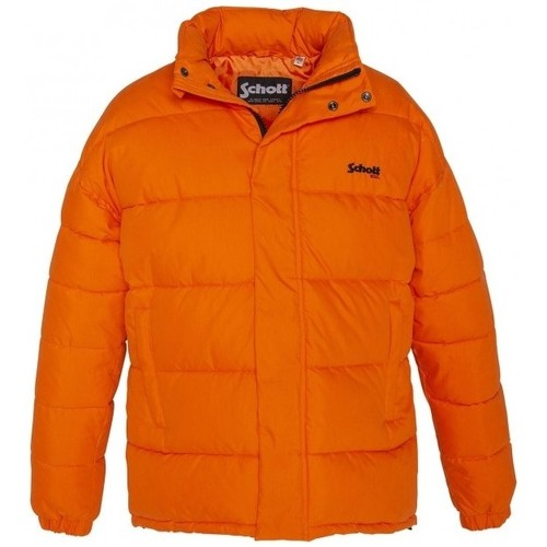 Vêtements Femme Doudounes Schott Doudoune    NEBRASKA W  Orange Orange