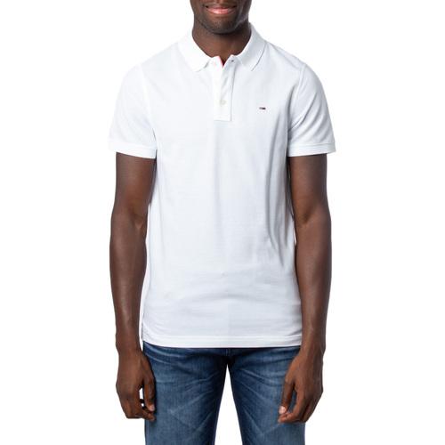 Vêtements Homme Polos manches courtes Tommy Hilfiger DM0DM04266 Blanc