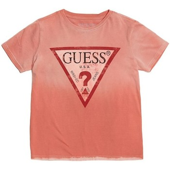 T-shirt enfant Guess T-Shirt Logo Triangle Rouge L81I26
