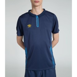 Vêtements T-shirts manches courtes Umbro Polo Training MARINE