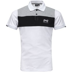 Vêtements Homme T-shirts & Polos Hungaria Polo Bennett Homme BLANC