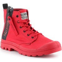 Chaussures Homme Baskets montantes Palladium Manufacture Pampa Unzipped 76443-614-M czerwony