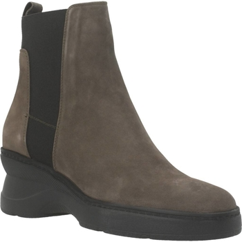 Chaussures Femme Bottines Geox D ASCYTHIA Marron