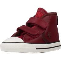 Chaussures Garçon Baskets montantes Converse STAR PLAYER 2V MID Rouge