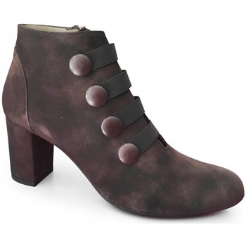 Chaussures Femme Bottines Brenda Zaro Boot Talon Marron Marron