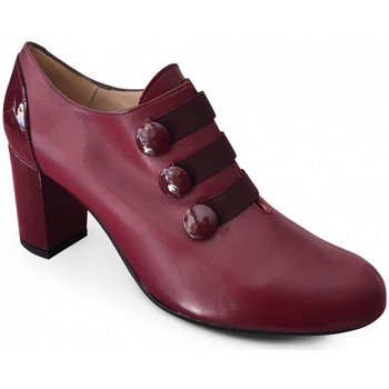 Chaussures Femme Low boots Brenda Zaro Low-Boot Talon Bordeaux rouge