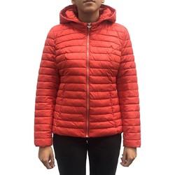 Vêtements Femme Manteaux LPB Woman Les Petites bombes Doudoune Capuche Rouge W19V8508 Rouge