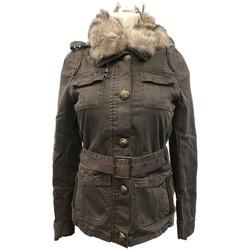 Vêtements Femme Blousons Rich & Royal Veste Kaky 13Q873 Vert