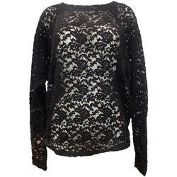 Vêtements Femme Tops / Blouses Charlie Joe Top ZUCCA Noir Noir