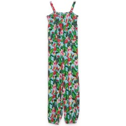 Vêtements Enfant Shorts / Bermudas Guess Combinaison Fille imprimé Floral Multicolore J82K22