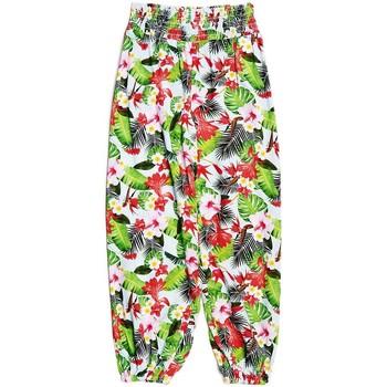 Jeans enfant Guess Pantalon Fashion imprimé vert J82B07