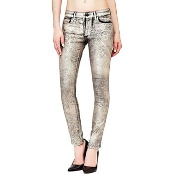 Vêtements Femme Jeans slim Guess Jean Femme effet lamé léopard Métal Beast