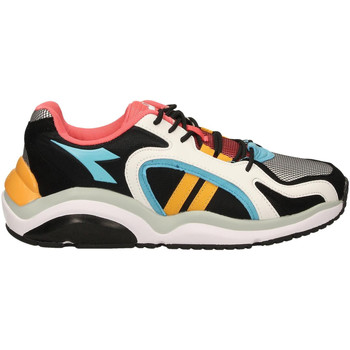 Chaussures Homme Baskets basses Diadora WHIZZ 370 c8019-bianco-nero-viola-mora