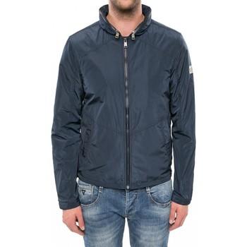 Vêtements Homme Blousons Guess Blouson Coupe-vent Smart Windbreaker Bleu