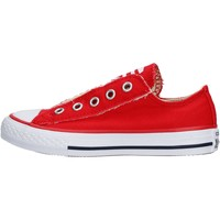 Chaussures Garçon Baskets basses Converse - Ct as slip on rosso 360975C ROSSO