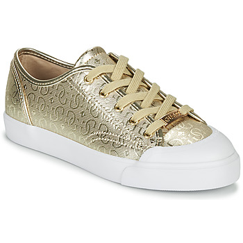 Chaussures Femme Baskets basses Guess GITNEY3 Or