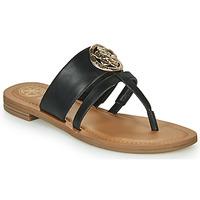 Chaussures Femme Tongs Guess GENERA Noir