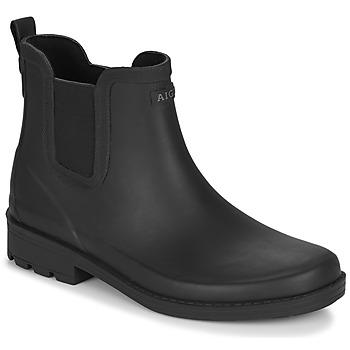 Chaussures Femme Bottes de pluie Aigle CARVILLE Noir