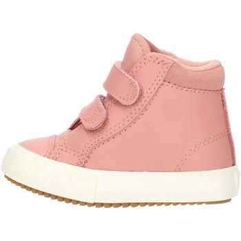 Chaussures Fille Baskets montantes Converse 76198 Rosa