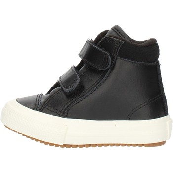 Chaussures Garçon Baskets montantes Converse 76198 Noir