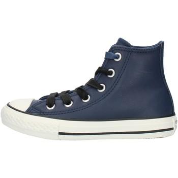 Chaussures Garçon Baskets montantes Converse 662809C bleu