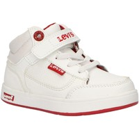 Chaussures Enfant Baskets montantes Levi's VGRA0065S NEW GRACE Blanco