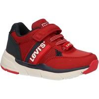 Chaussures Enfant Baskets basses Levi's VORE0013S NEW OREGON Rojo