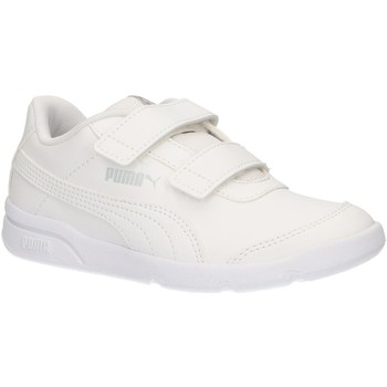 Chaussures Enfant Baskets basses Puma 192522 STEPFLEEX Blanco