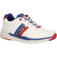 Chaussures Enfant Baskets basses Levi's VORE0016S NEW OREGON Blanco