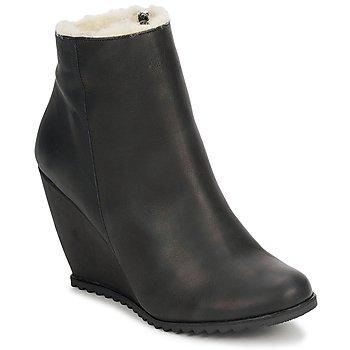 Bottines / Boots D.Co Copenhagen SALLY ZIPPER Black 350x350