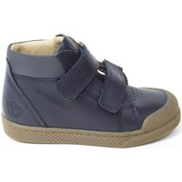 Chaussures Garçon Baskets montantes 10 Is Baskets cuir TEN WIN HI V2 bleu