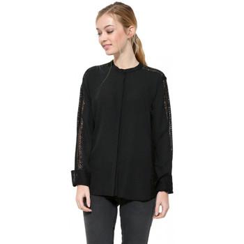 Vêtements Femme Tuniques Desigual Chemise Femme Hubert noir 17WWCW93 38