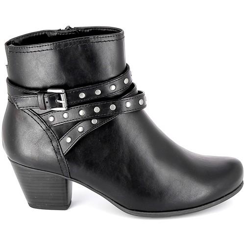 Chaussures Femme Bottines Jana Boots 25362-23 Noir Noir