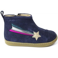 Chaussures Fille Bottines Shoo Pom Bottines cuir BOUBA HALLEY bleu
