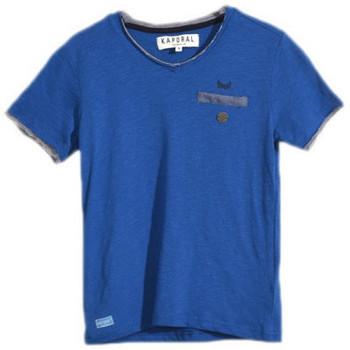 T-shirt enfant Kaporal T-Shirt garçon Deros Cobalt