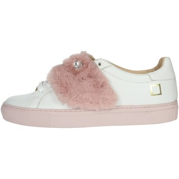 Chaussures Femme Baskets basses Date I19-51 Blanc/rose