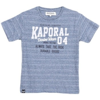 T-shirt enfant Kaporal Tee-Shirt Garçon Rooky Bleu