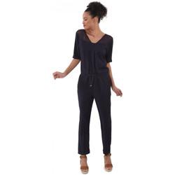 Vêtements Femme Combinaisons / Salopettes Kaporal Combinaison Bisou Bleu Marine