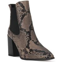 Chaussures Femme Bottines Café Noir CAFE NOIR  TRONCHETTO PITONE Nero