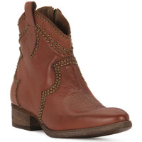 Chaussures Femme Bottes ville Priv Lab CUOIO BUFALO Marrone