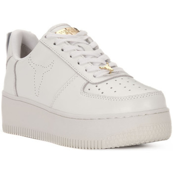 Chaussures Femme Baskets basses Windsor Smith RACERR WHITE Bianco