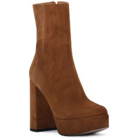 Chaussures Femme Bottines Priv Lab RODEO CAMOSCIO Marrone