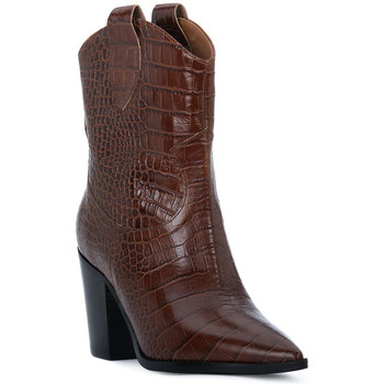 Chaussures Femme Bottes ville Priv Lab CHOCO COCCO Marrone