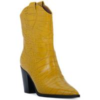 Chaussures Femme Bottines Priv Lab OCRA COCCO Giallo